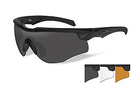 92c28900bd ... WILEY X ROGUE Smoke grey + clear + light rust lens Com.Temp. matte  black frame 125 EUR novinka ...