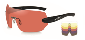 d86a3107324 ... WILEY X DETECTION Clear + yellow + orange + purple + copper lenses    matte black frame 209 EUR novinka